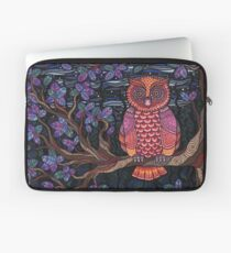 Psychedelic Owl Laptop Sleeve