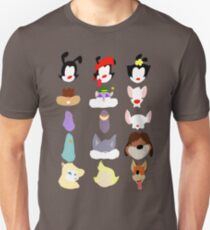 Animaniacs Animal Cast Unisex T-Shirt
