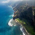 Na Pali Coast - Kauai by Michael Treloar
