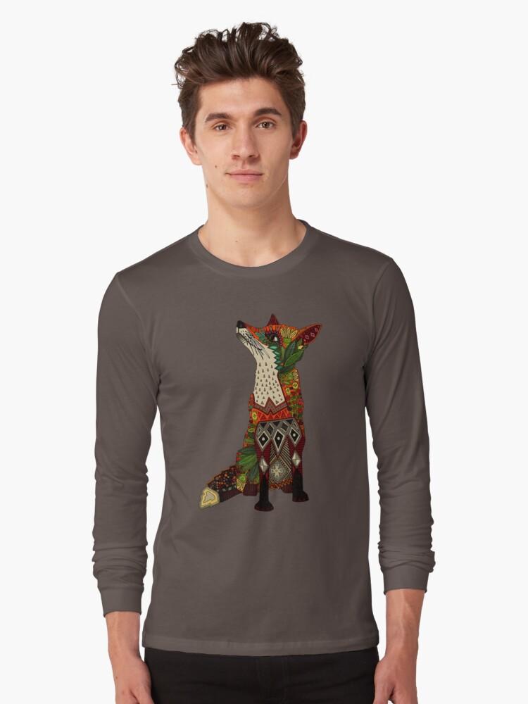 fox love Long Sleeve T-Shirt Front