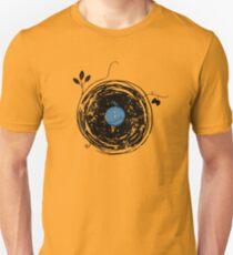 Enchanting Vinyl Record Grunge Vintage Unisex T-Shirt
