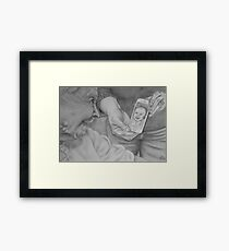 A Great Call Framed Print
