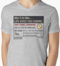 Lemons, portal 2 Men's V-Neck T-Shirt