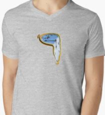 Salvador Dali: The Persistence of Memory Men's V-Neck T-Shirt