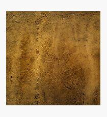 Textured Stone Photographic Print