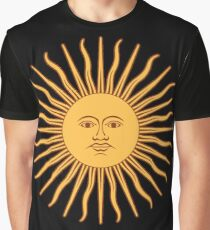 Argentina Sun Duvet Cover - Argentinian Sticker Graphic T-Shirt