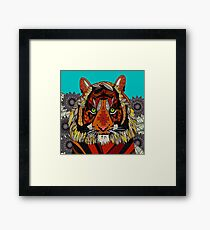 tiger chief Framed Print