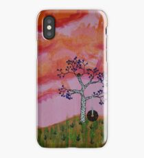 Nest at Sunset iPhone Case