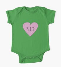 I LOVE SLEEP Kids Clothes