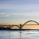 Yaquina Bay Bridge, Newport, Oregon by Doug Graybeal