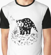 Spotted Tail Quoll- Dasyurus maculatus Graphic T-Shirt