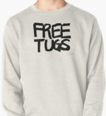 FREE TUGS (black) Pullover