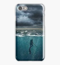 Spearfishing iPhone Case/Skin