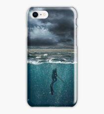 Spearfishing iPhone Case/Skin
