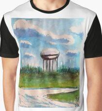 Raines Road Watertower Graphic T-Shirt