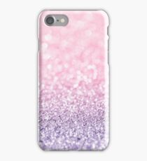 Pink and Lavender Glitter  iPhone Case/Skin