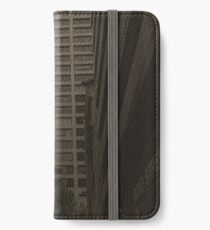 cityscape and lame mistakes iPhone Wallet/Case/Skin