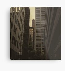 cityscape and lame mistakes Metal Print