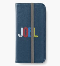 Joel - Your Personalised Products iPhone Wallet/Case/Skin