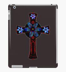 Flower cross iPad Case/Skin