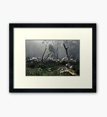 Fogscape Framed Print