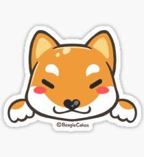 Cute Shiba Inu Puppy (Sesame) Sticker