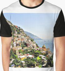 Beautiful Positano Graphic T-Shirt