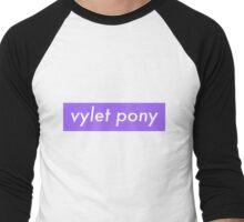 Vy ~ Supreme Knockoff Men's Baseball ¾ T-Shirt