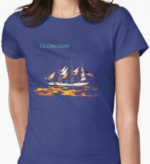 United States Coast Guard Womens Fitted T-Shirt