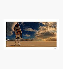 Sexy Storm Trooper Photographic Print