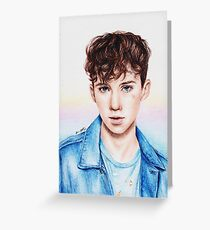 Troye Sivan for Rolling Stones Greeting Card