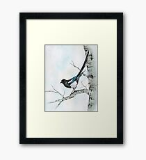 The Lookout Framed Print