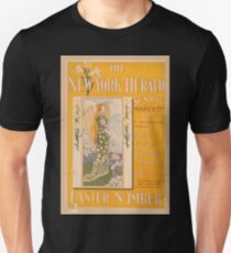 Artist Posters The New York Herald Sunday March 22nd 1896 A newspaper marvel Easter number 0862 T-Shirt