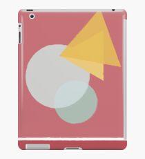 Circle&triangle iPad Case/Skin