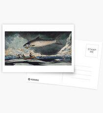 Winslow Homer, A Good Pool Postcards