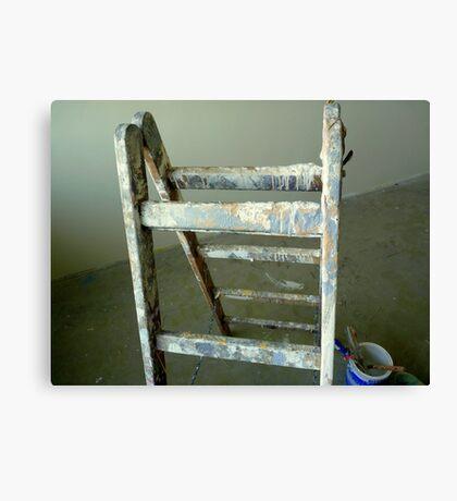 A painter's tools Canvas Print