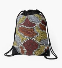The Wasp Nest Rock Formation Drawstring Bag