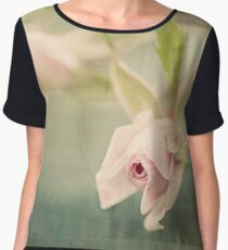 Tiny Roses Women's Chiffon Top