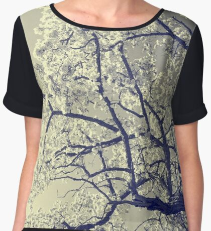 May the flowers fill your heart with beauty Women's Chiffon Top