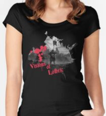 visions of lothric  Women's Fitted Scoop T-Shirt