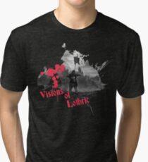 visions of lothric  Tri-blend T-Shirt