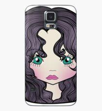 Dollhouse Girl Purple Case/Skin for Samsung Galaxy