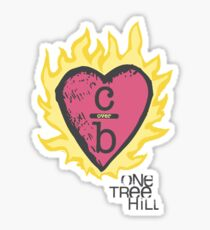 One tree hill- Burning Heart Sticker