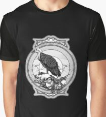 eagle skull Graphic T-Shirt