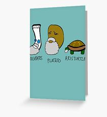 Philostuffers Greeting Card
