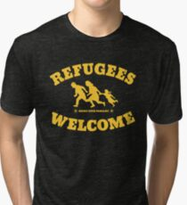 Refugees Welcome Tri-blend T-Shirt