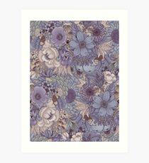 The Wild Side - Lavender Ice Art Print