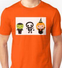 Happy Kids in Halloween costumes Unisex T-Shirt