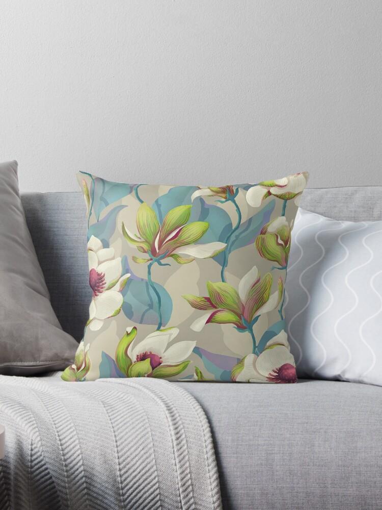 Magnolien-Blüte - Dämmerung von Lidija Paradinovic Nagulov