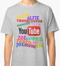YOUTUBE STARS Classic T-Shirt